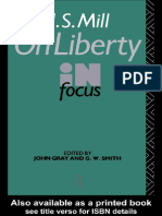 J. S. Mill's on Liberty in Focus