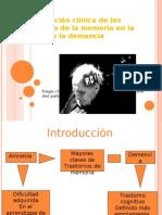 Amnesia y Demencia Pps