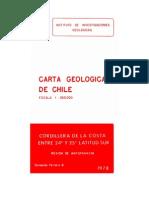 Carta Geologica Nro.26_cordillera de La Costa de Antofagasta