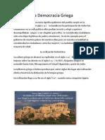 La Democracia Griega