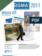 iSixSigma 2011 Print MediaKit FINAL