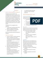 9 Study Sheet - Writing Objectives