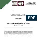 Evolution Des Pratiques De Veille Depuis 20 Ans
