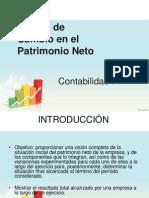 Estado del Patrimonio Neto