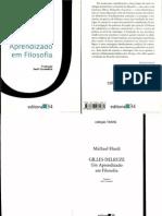 HARDT, Michael. Gilles Deleuze Um Aprendizado Em Filosofia
