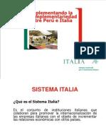 Complementariedad Comercial Peru e Italia