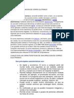 Investiga La Definicion de Corro Elctrnico