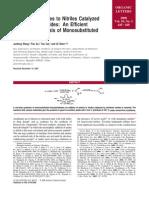 Amidine Synthesis