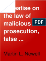 A Treatise on the Law of Malicious Prose
