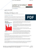 WSJ Drug Approvals 2010