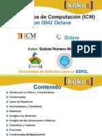 Fundamentos de computación en Octave ICM - ESPOL