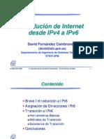 Evolucion IPv4 IPv6 David Fernandez