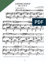 Kreisler - Dvorak - Slavonic Dance, Op. 72-2