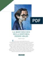 Sinesio López - La reinvención de la historia desde abajo