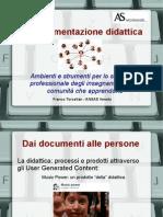 La documentazione didattica
