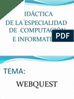 Componentes de Una Webquest