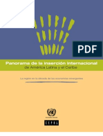 La Region en La Decada de Las Economias Emergentes PANINSAL 2011