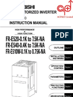 Mitsubishi e500 Series Manual