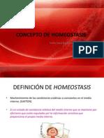 Concepto de Homeostasis