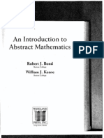 Robert J. Bond and William J. Keane- An Introduction to Abstract Mathematics