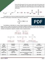 Acidity and Alkyl Halides