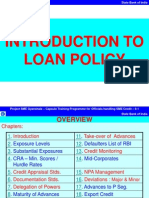 Loan Policy Abridged