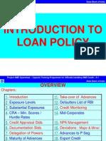 Loan Policy Abridged