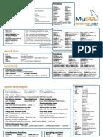 MySQL Quick Reference Sheet