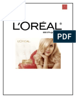 Loreal Marketing management project
