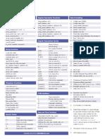 PHP Cheat Sheet v2