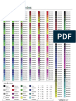 RGB Color Hex Cheat Sheet v1