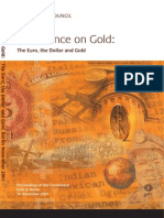 The Euro, The Dollar and Gold