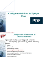 Configuracion Equipos Cisco