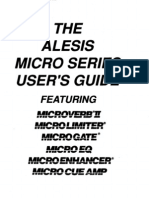 Alesis Micro Series Manual