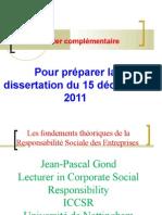 Dossier dissertation numéro 1