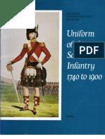 Scottish Infantry Uniforms
