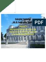 Proiect cerc pedagogic codreanu biologie 2011