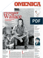 David Foster Wallace docente