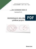 Bazele Geodeziei Fizice II - Lucrarea Nr. 2