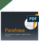 Parafrasa