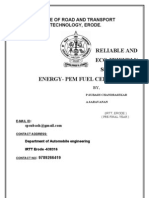 New Pem Fuel Cells