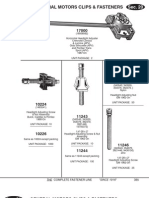General Motors Clips and Fasteners