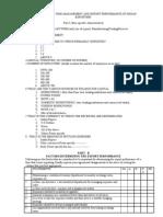 Questionnaire 2010