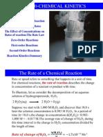 10.Hafta Chemical Kinetics