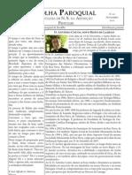 Folha Paroquial de Pendilhe - Novembro de 2011