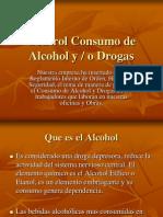 Control Consumo de Alcohol y Drogas