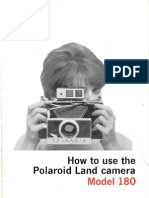 Polaroid 180 Manual