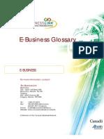 E Business Glossary