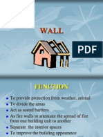 type of wall
