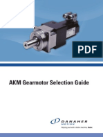 AKM Gearmotor Selection Guide Cten